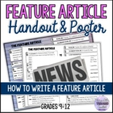 Feature Article Poster/Graphic Organizer