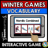 WINTER OLYMPICS 2018 ACTIVITIES 1ST GRADE, SECOND GRADERS (BOOM CARDS ELA)