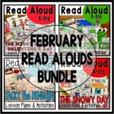 FEBRUARY CLOSE READ LESSON PLANS and ACTIVITIES