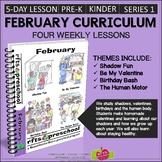FEBRUARY CURRICULUM FOR PRESCHOOL PREK KINDERGARTEN - S1