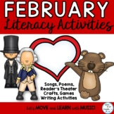 February: President's, Ground Hog and Valentine's Day Lite