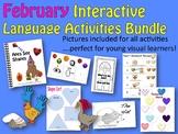 FEBRUARY Interactive Language Activity Bundle