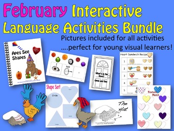FEBRUARY Interactive Language Activity Bundle