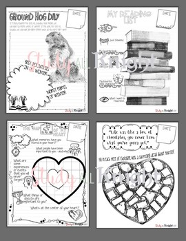 FEBRUARY JOURNAL PROMPTS, BELL RINGERS, VALENTINE'S DAY, BLACK HISTORY, AND MORE