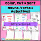 FEBRUARY LITERACY! VALENTINE Nouns, Verbs & Adjectives Act