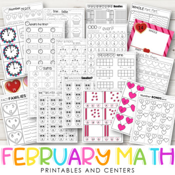FEBRUARY MATH {CCSS Aligned}