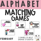 FEBRUARY  Monthly Alphabet Letter Recognition Games
