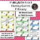 FEBRUARY Multisyllabic Games Word Fluency Literacy Center Big Words Pack