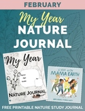 FEBRUARY My Year Nature Journal Free Printable