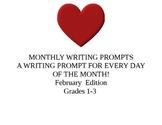 FEBRUARY PROMPTS