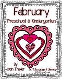 FEBRUARY is for Preschoolers (PreK & Kindergarten)