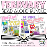 FEBRUARY READ ALOUD LESSON ACTIVITY BUNDLE (Kindergarten)