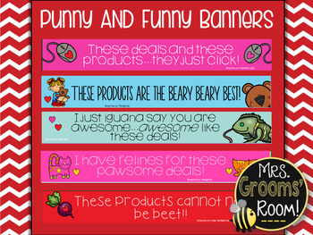 FEBRUARY'S TPT BANNERS FOR TPT SELLERS