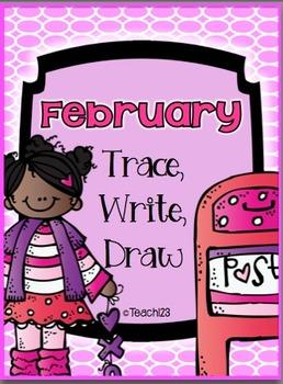 FEBRUARY- Trace, Write, Draw