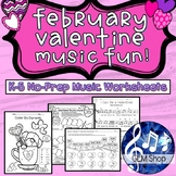 FEBRUARY VALENTINE MUSIC Activities K-5 Songs Games THEORY