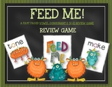 FEED ME: A FAST MOVING VCE WORD FLUENCY GAME