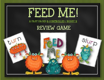 FEED ME: BOSSY R (R CONTROLLED) FLUENCY GAME