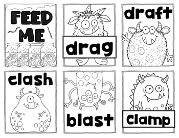 FEED ME:  Blend and Digraphs edition