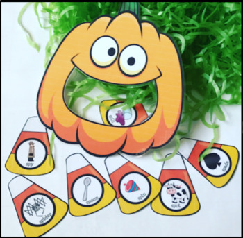 FEED PUMPKIN SPEECH THERAPY  worksheets LOW PREP NO PREP