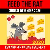 Feed The Rat Chinese New Year 2020 Rewards Online ESL Teachers