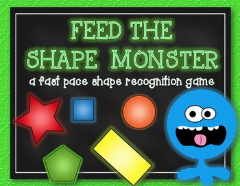 FEED THE SHAPE MONSTER