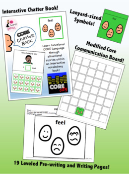 FEEL: Complete Core Word Activity Set