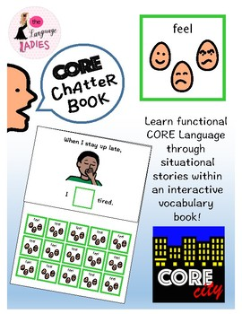 FEEL: Interactive CORE City Chatter Book