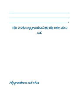 Feeling Sad...An Activity Book