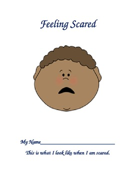 Feeling Scared...An Activity Book