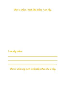 Feeling Shy...An Activity Book