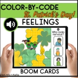 FEELINGS COLOR BY CODE ST. PATRICK'S DAY