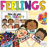 FEELINGS & EMOTIONS PowerPoint Lesson, Masks, Scenario Car