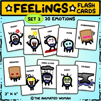 FEELINGS Flashcards – Set 2