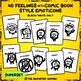 FEELINGS Flashcards Superset – BUNDLE Black & White ONLY