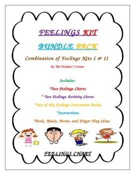 Feelings Kit Bundle Pack...A Combination of Feelings Kits I & II