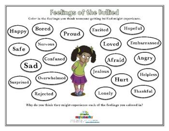 FEELINGS OF THE BULLIED