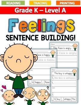 FEELINGS Sentence Building LEVEL A