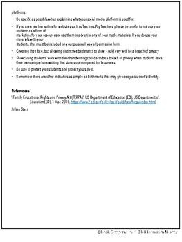 FERPA Guidlines for Teachers