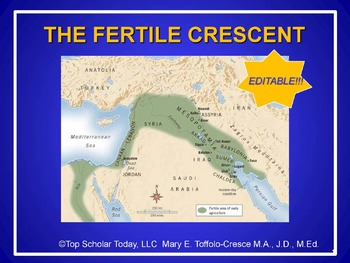 FERTILE CRESCENT POWERPOINT AND STUDY GUIDE