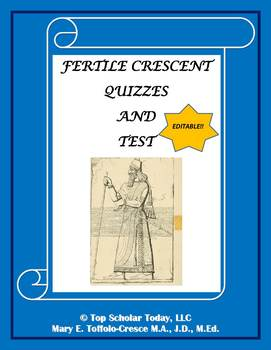 FERTILE CRESCENT QUIZZES AND TEST