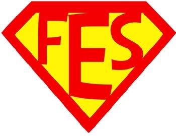 FES Custom Superhero Logo