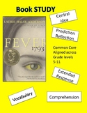 FEVER 1793- Laurie Halse Anderson - Book Study