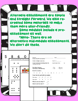 Engage NY Kindergarten Math Modules Pacing Guides and Assessment BUNDLE