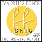 FF Fonts: Complete Growing Bundle