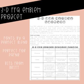 FFA 3-D Emblem Project