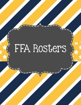 FFA Advisor Binder Covers