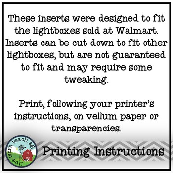 FFA & Ag Ed Reminders Lightbox Inserts