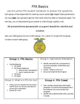 FFA Basics Group Notes