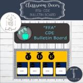 FFA CDE Bulletin Board Set