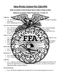 FFA Chapter Point System Overview